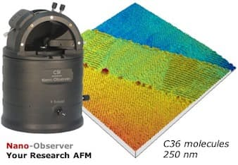 Nano Observer high resolution AFM