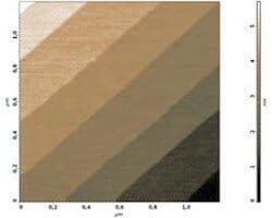SiC AFM calibration sample