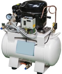 NanoTechnology Solutions LG ultra quiet air compressor for laboratory use